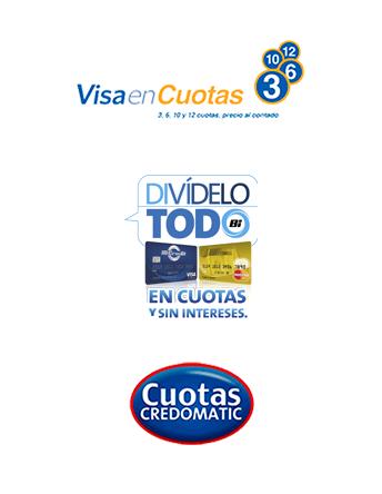 Visa Cuotas para tus viajes